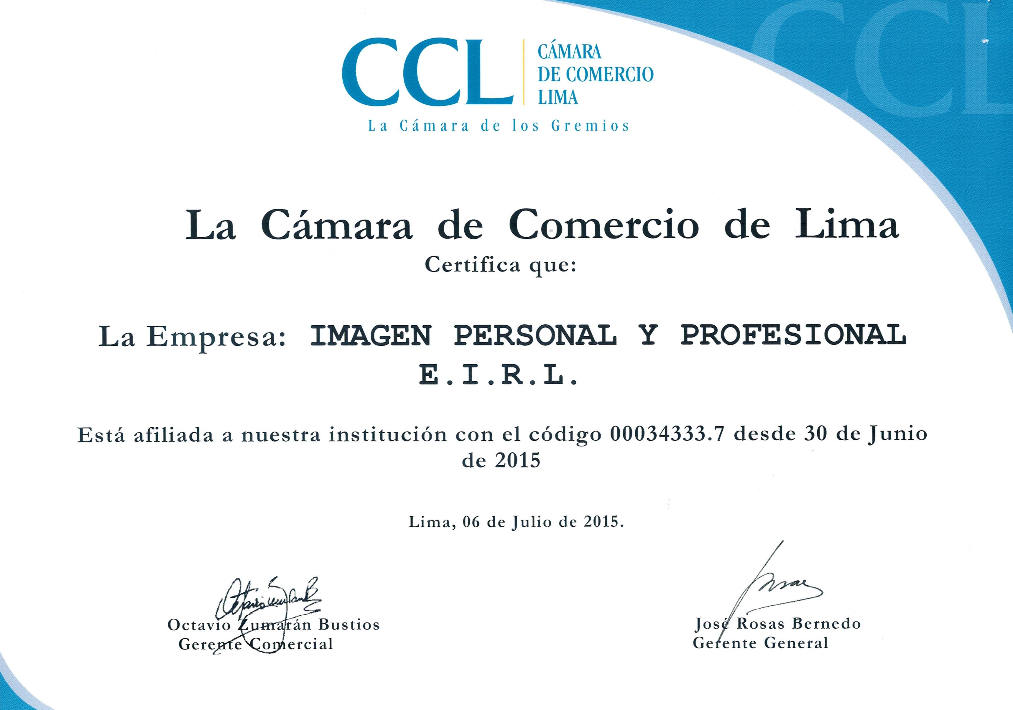 Diploma CCL IMI