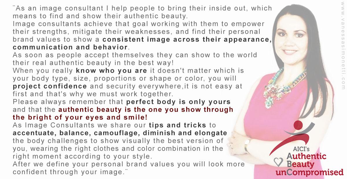 Authentic beauty vs