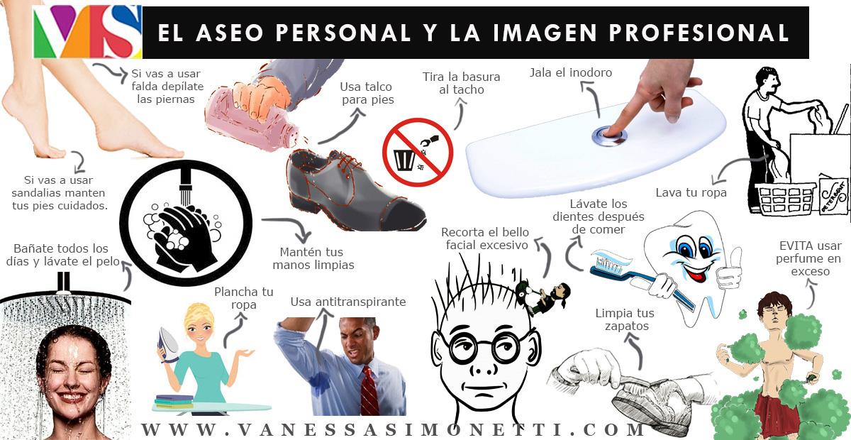 El Aseo Personal Y La Imagen Profesional